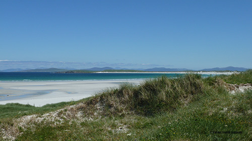 Summer - best time to visit Scotland - Clachan Sands, North Uist