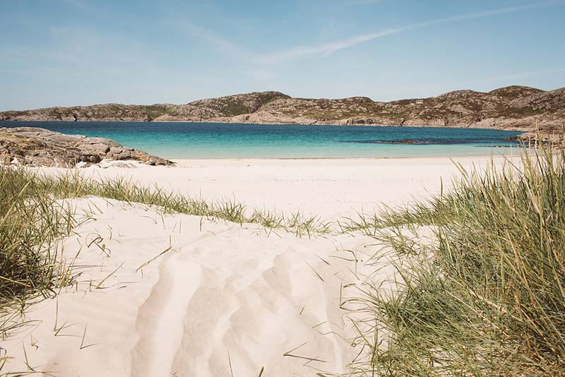 Things to do in northern Scotland - Achmelvich beach