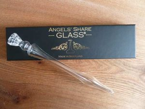Angels' Share Whisky Dropper with thistle topper