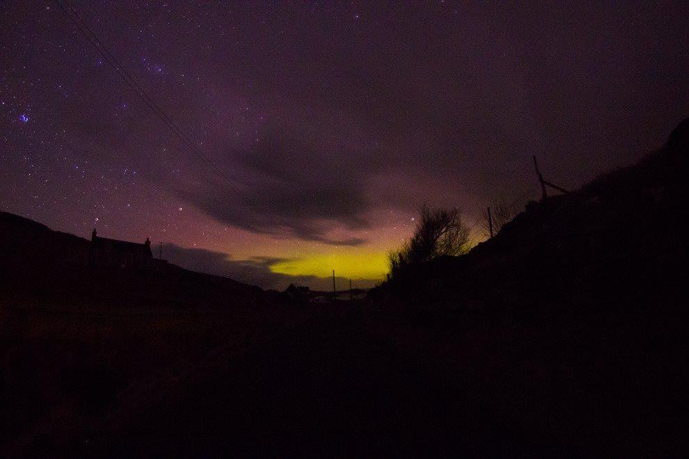 Aurora Borealis over Bernera