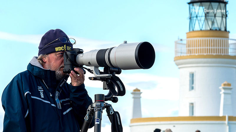 Charlie Phillips photographer at Chanonry Point