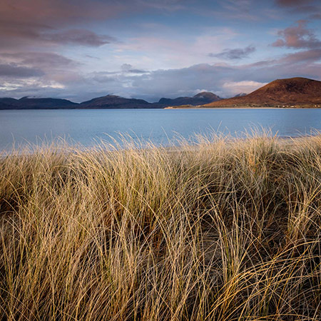 Christopher Swan: Harris in the Spring - dunes, sea and mountains