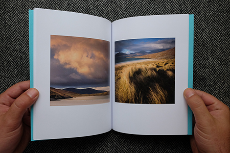 Christopher Swan: Harris in the Spring - beaches and dramatic skies