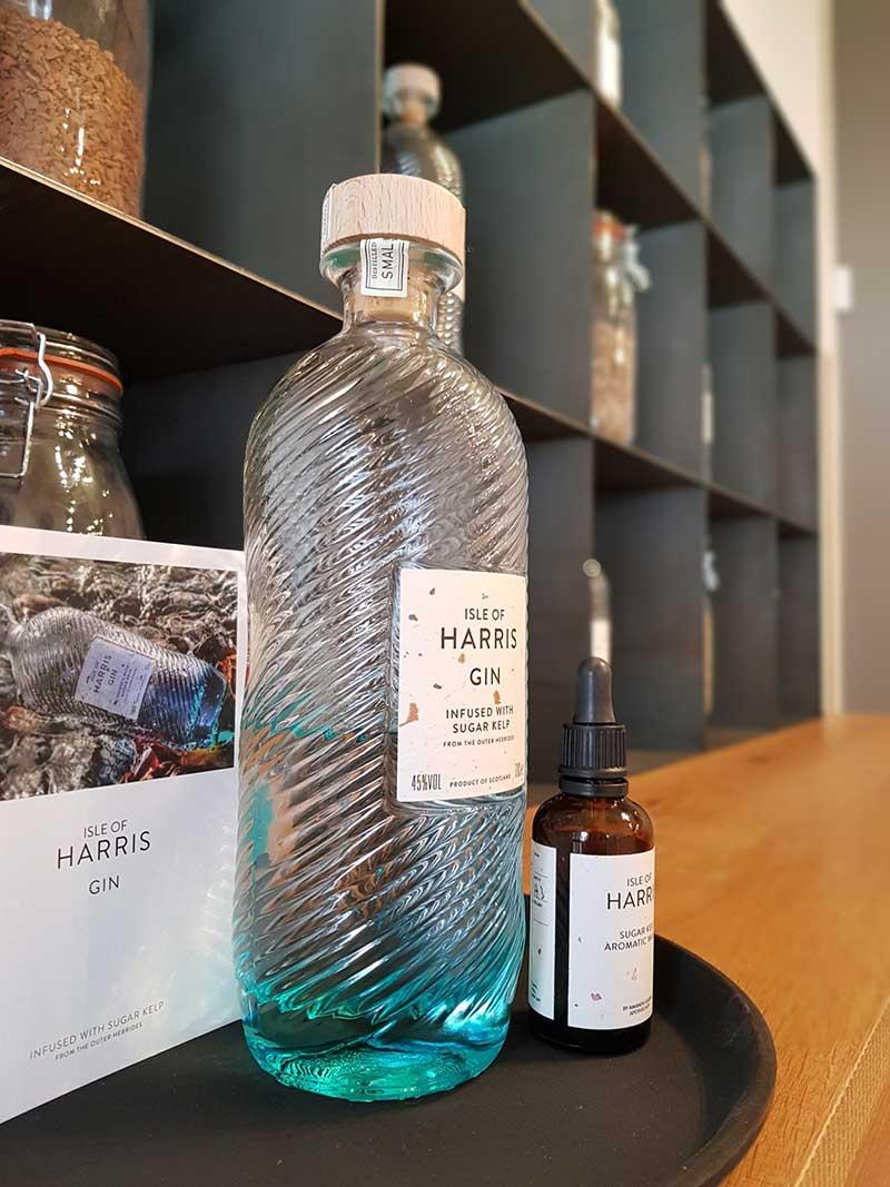 Isle of Harris Distillery tour bottle of gin