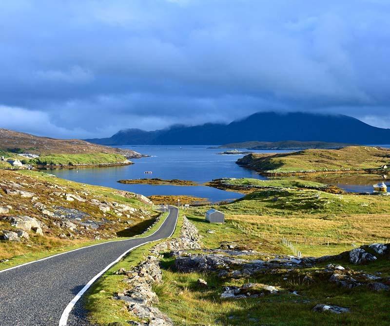 Govig on the Isle of Harris, on the road to Hushinish