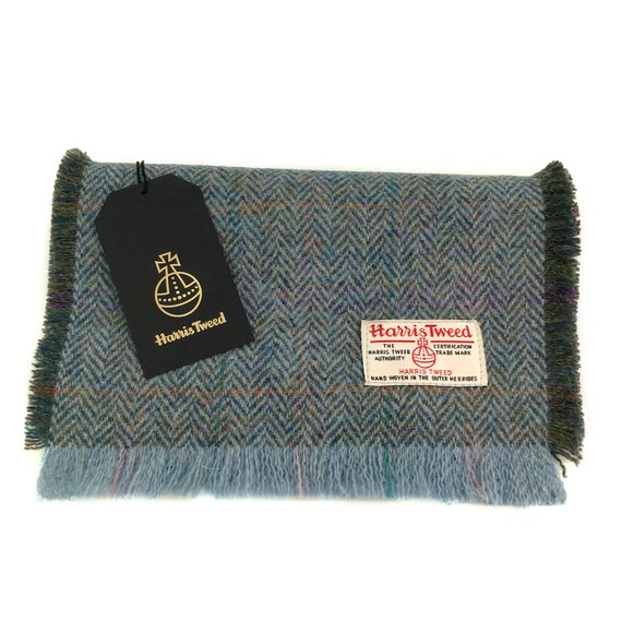 Harris Tweed scarf - Scottish gifts for men