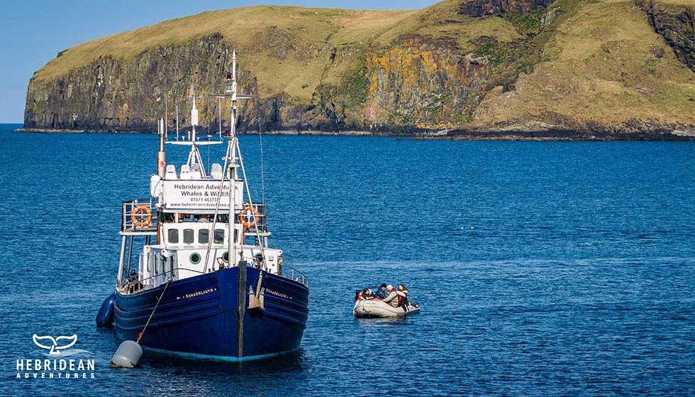 Hebridean Adventures boat