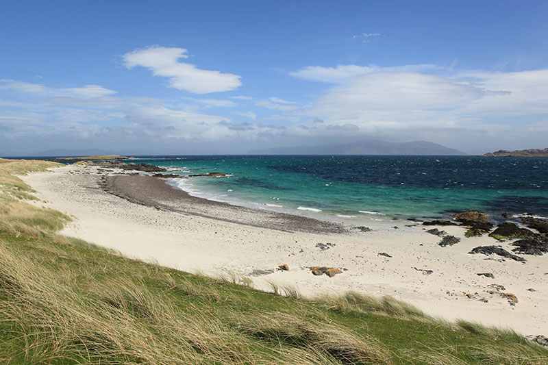 Scottish Highlands and Islands - Iona beach