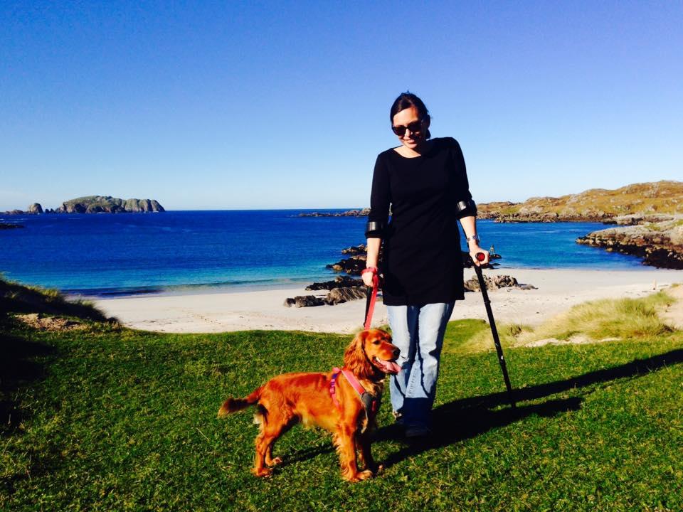 Jean and Bonnie, Bosta Beach, Bernera