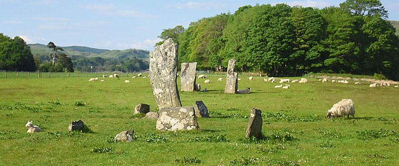Kilmartin Stones Argyll