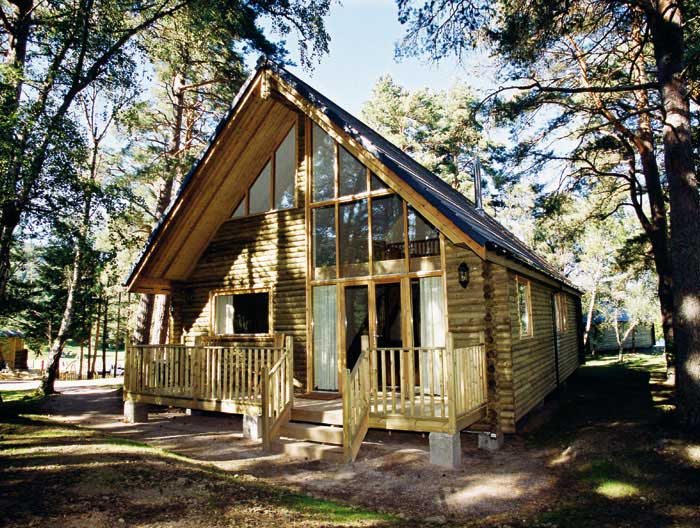 Macdonald Aviemore woodland lodge