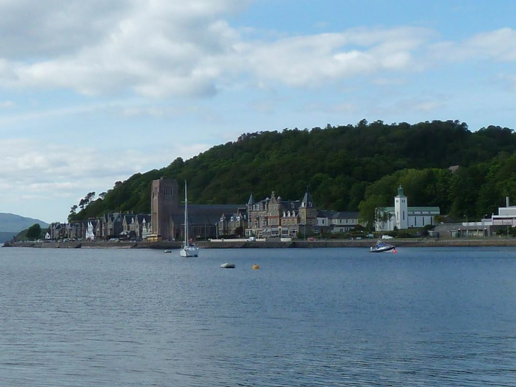 Oban seafront - National Holidays coach tours