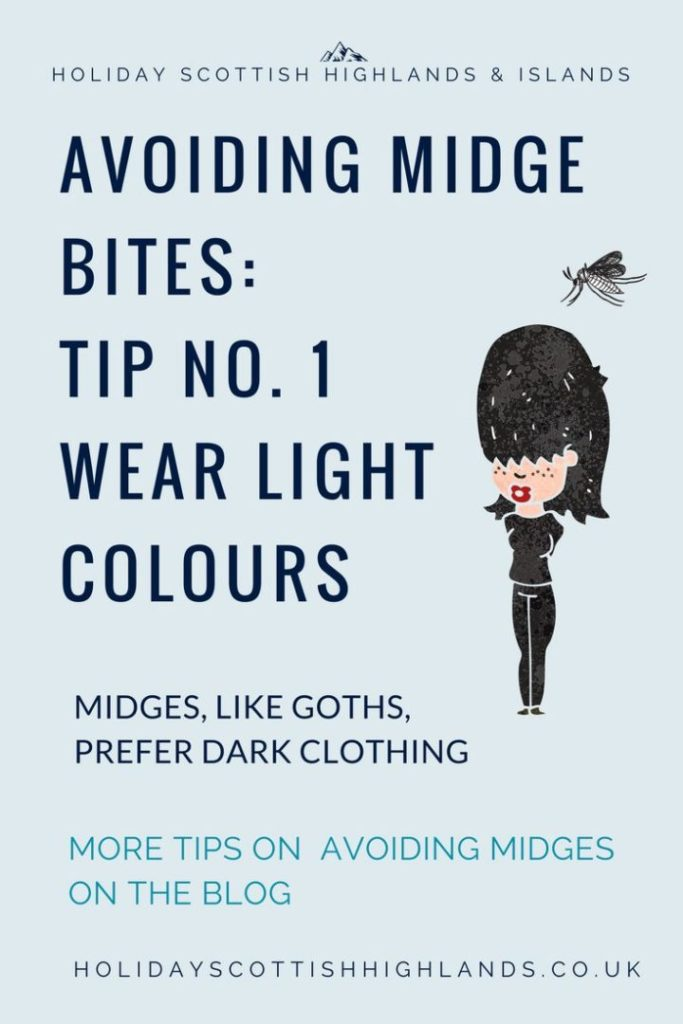 How to avoid midge bites in Scotland