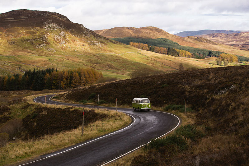 Road tripping in Scotland