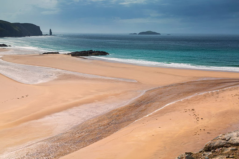 Sandwood Bay by Derek Beattie