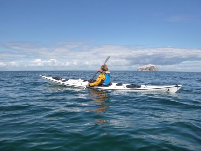 Sea kayaking Scotland - Bass Rock