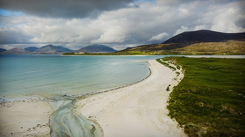 Things to do on the Isle of Harris - Seilebost beach