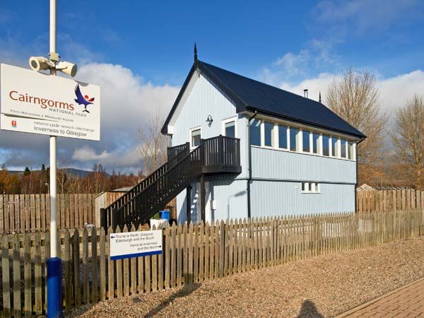 Signal Box Newtonmore Cairngorms exterior