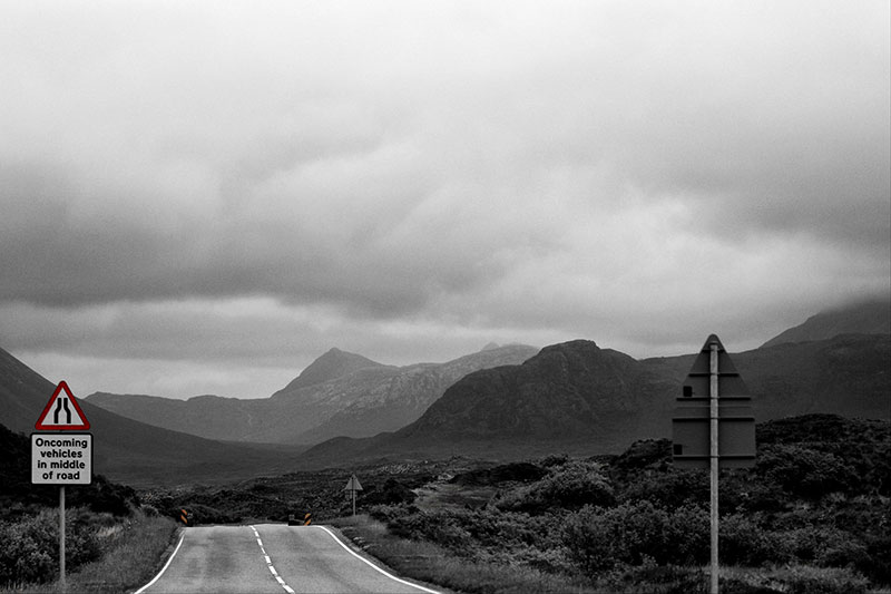 Things to do in Scotland - road on Isle of Skye