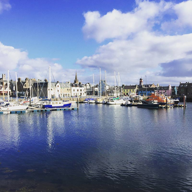 Stornoway harbour Isle of Lewis, Outer Hebrides