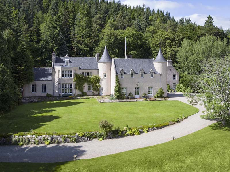 Strathdon Castle Cairngorms Scotland Exterior - castles to stay in Scotland