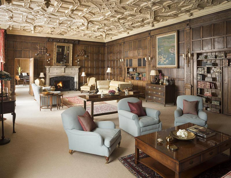 Strathdon Castle Cairngorms Scotland lounge