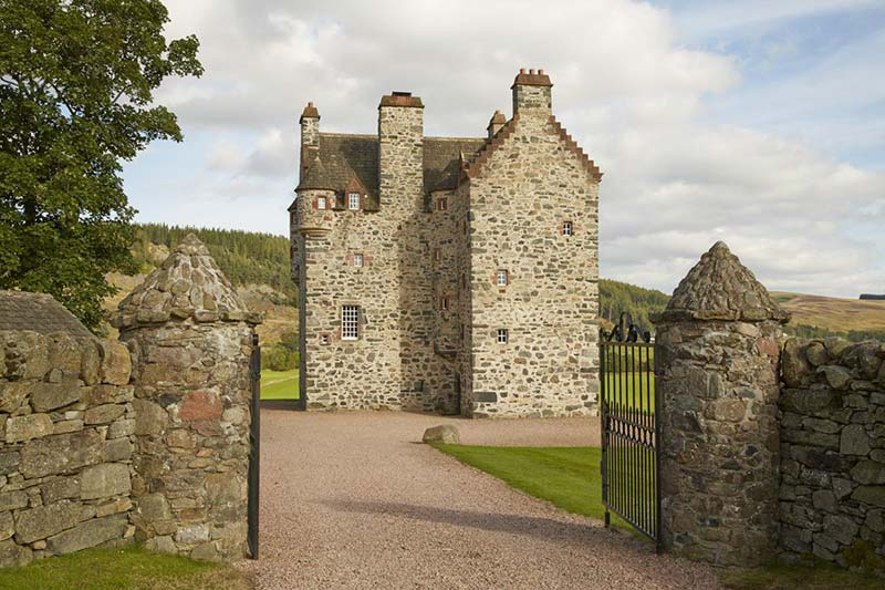 The Fortalice Perthshire Scotland exterior gates