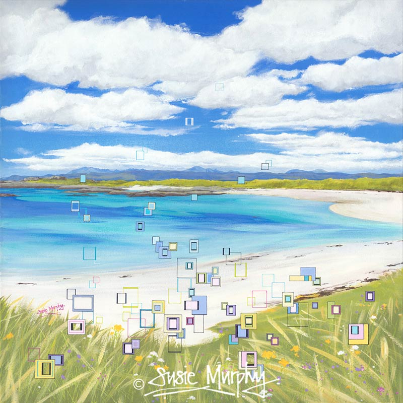 The Machair's Dance painting by Susie Murphy