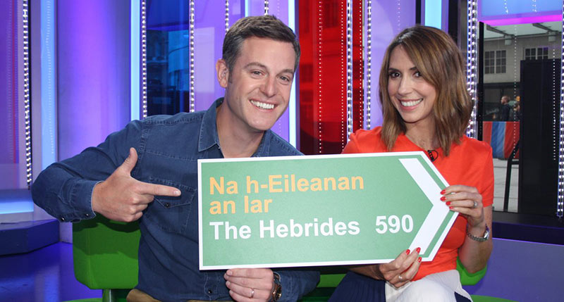The One Show from the Outer Hebrides