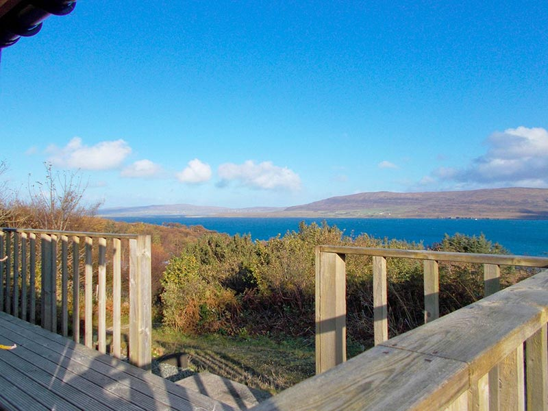 The Sheiling Totaig Isle of Skye Cottages - View from cottage