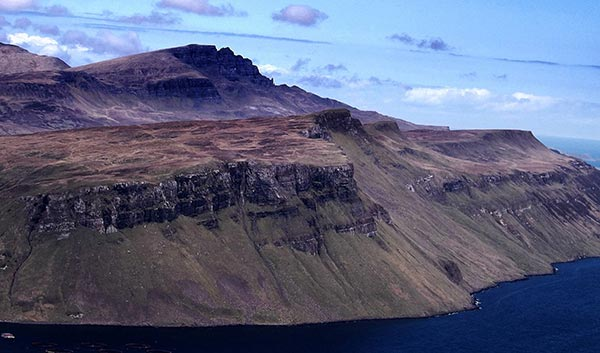 Things to do on the Isle of Skye - Looking over to The Storr from Tianavaig summit