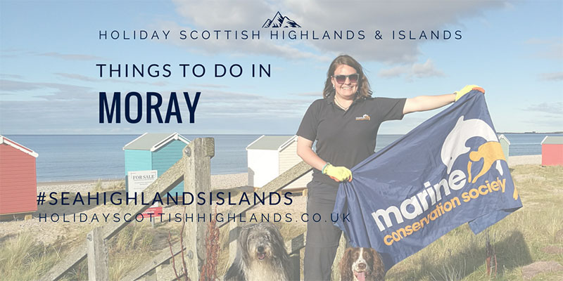 Things to do in Moray - Catherine, Marine Conservation Society