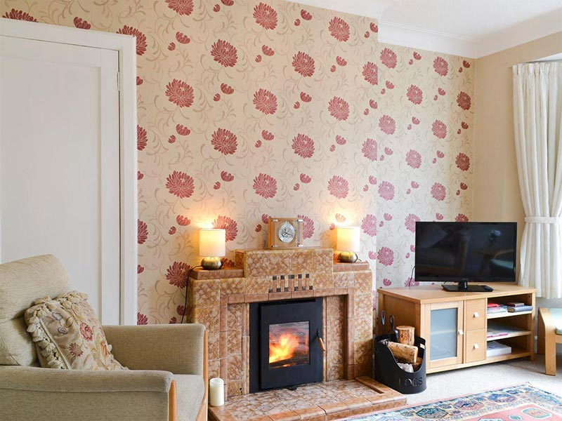 Viewhill Villa living room - self-catering in the Inverness area