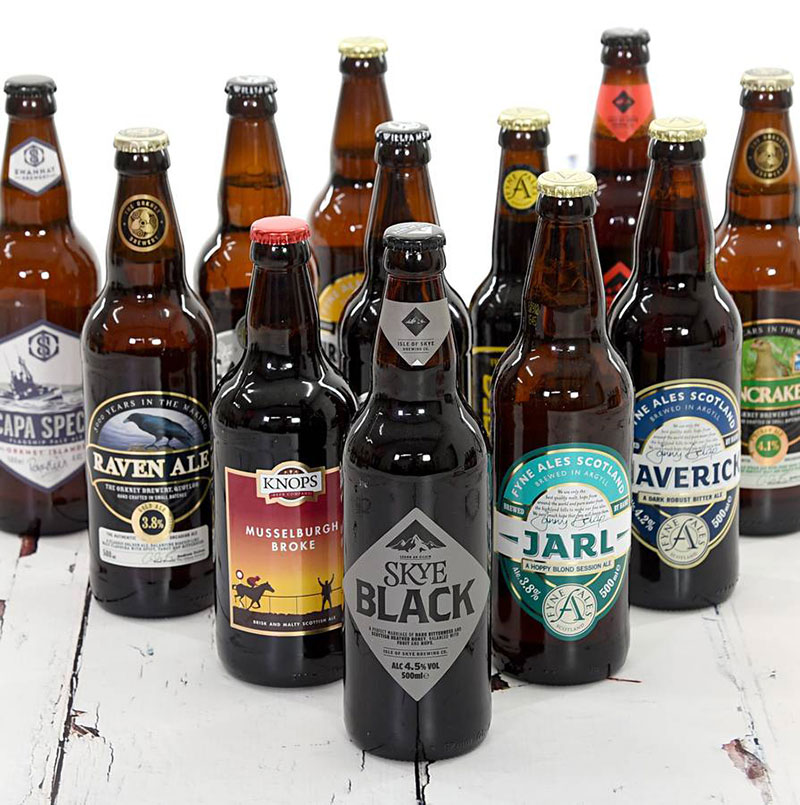 A perfect gift for a real ale fan missing the taste of Scotland or any ale drinker who wants to see what Scottish breweries have to offer.